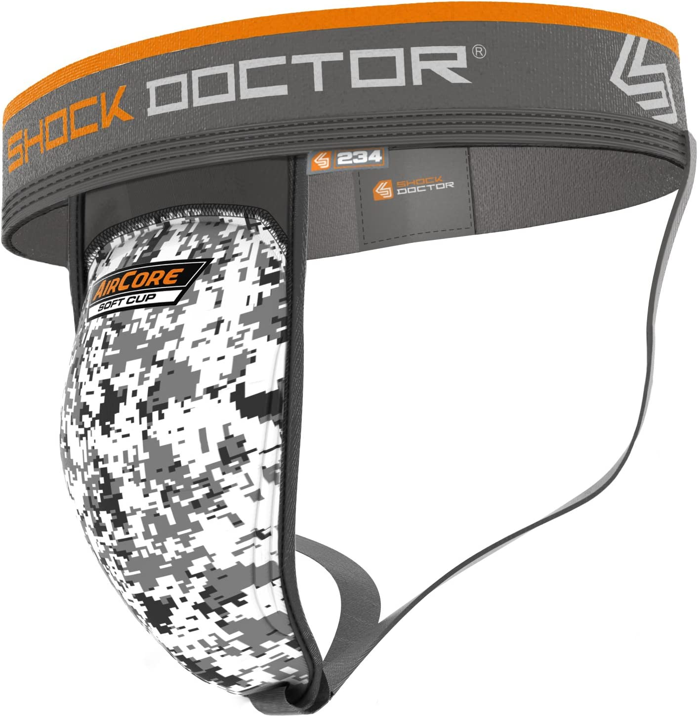 Youth /& Adult Shock Doctor Athletic Supporter Jock w// Aircore Protective Cup