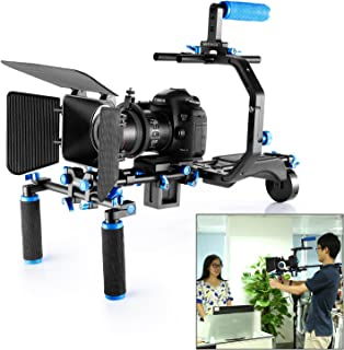 Neewer Film Movie Video Making System Kit for Canon Nikon Sony and Other DSLR Cameras Video Camcorders, includes: C-shaped...