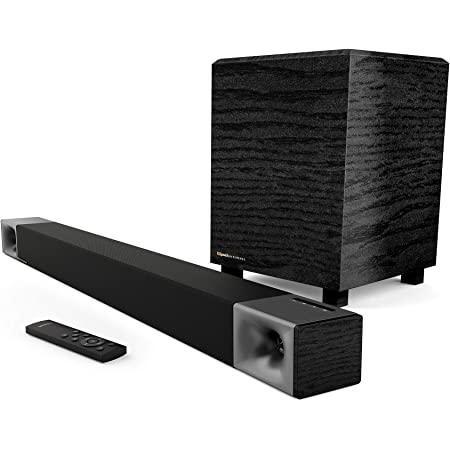 Klipsch Cinema 400 Sound Bar + 8Inch Wireless Subwoofer with HDMIARC