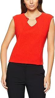 CALVIN KLEIN Women's Short Sleeve Knit Top