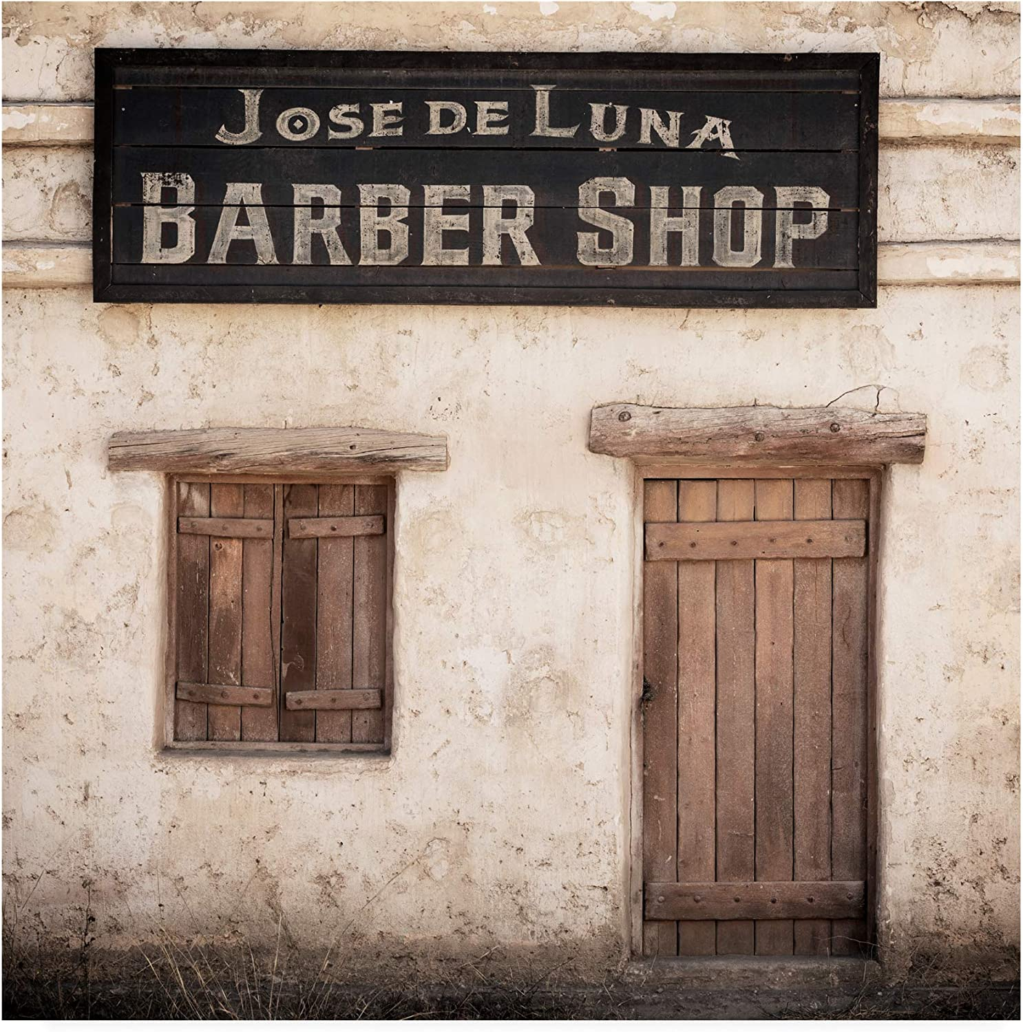 Trademark Fine Art PH01424-C1414GG Made in Spain 3 Barber Shop by Philippe Hugonnard, 14x14