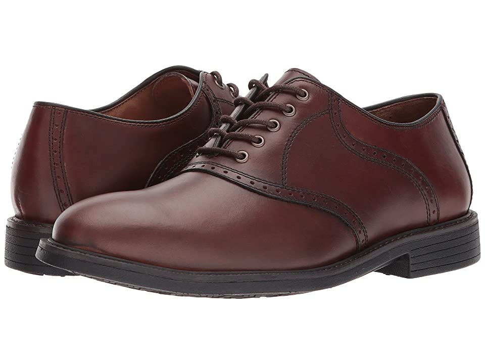Johnston & Murphy Waterproof XC4(r) Saddle Shoe Oxford (Oak Waterproof Full Grain) Men