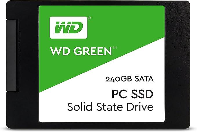 "Western Digital 240GB Green 2.5"" Internal Solid State Drive Model WDS240G1G0A"