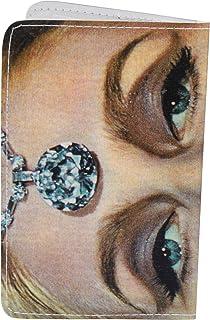 Diamond Lady Vintage Business, Credit & ID Card Holder