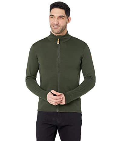 Fjallraven Keb Wool Sweater (Deep Forest) Men
