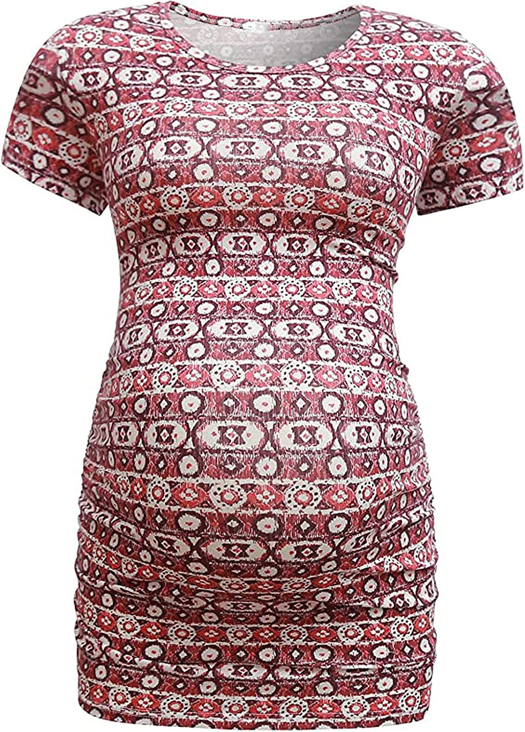 SALENEW very popular free shipping Maternity Short Sleeve Shirts Cute Clothes Baby Tunic Tops Print