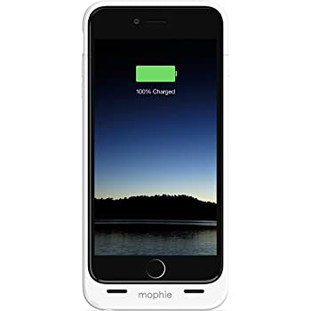 Mophie Juice Pack For Iphone 6 Plus White Amazon Co Uk Electronics Creators of the original juice pack battery. mophie juice pack for iphone 6 plus 2 600mah white