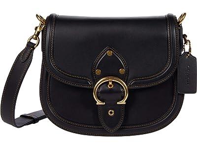 COACH Glovetanned Leather Beat Saddle Bag