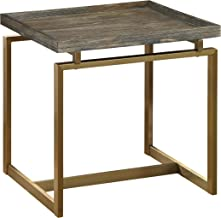 Treasure Trove End Table, Weathered Brown