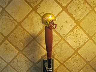 Florida State Seminoles Kegerator Beer Tap Handle Football Helmet Team Bar NCAA