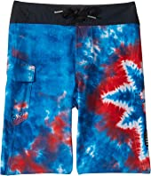 Peace Mod Boardshorts (Big Kids)