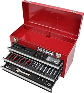 CRAFTSMAN 178 TOOL SET WITH CRAFTSMAN 3 DRAWER TOOL BOX