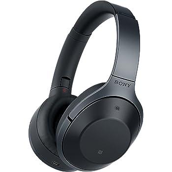 Amazon Com Sony Premium Noise Cancelling Bluetooth Headphone Black Mdr1000x B Electronics