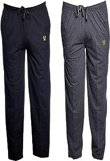 VIMAL JONNEY Men's Cotton Track Pants - Pack of 2