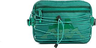 Kappa 222 Banda Aldaz Unisex Large Crossbody Waist Pouch Bag - Green