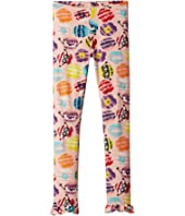 Fendi Kids - Fur Monster Print Leggings (Little Kids)
