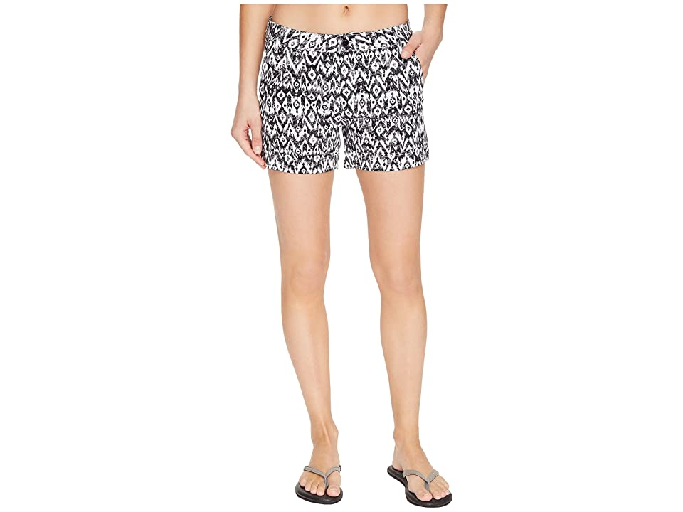 Lole Casey Shorts (Black Sizzle Ikat) Women