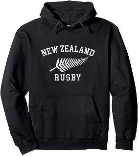 New Zealand Rugby Hoodie - NZ Rugby Hooded Sweatshirt -