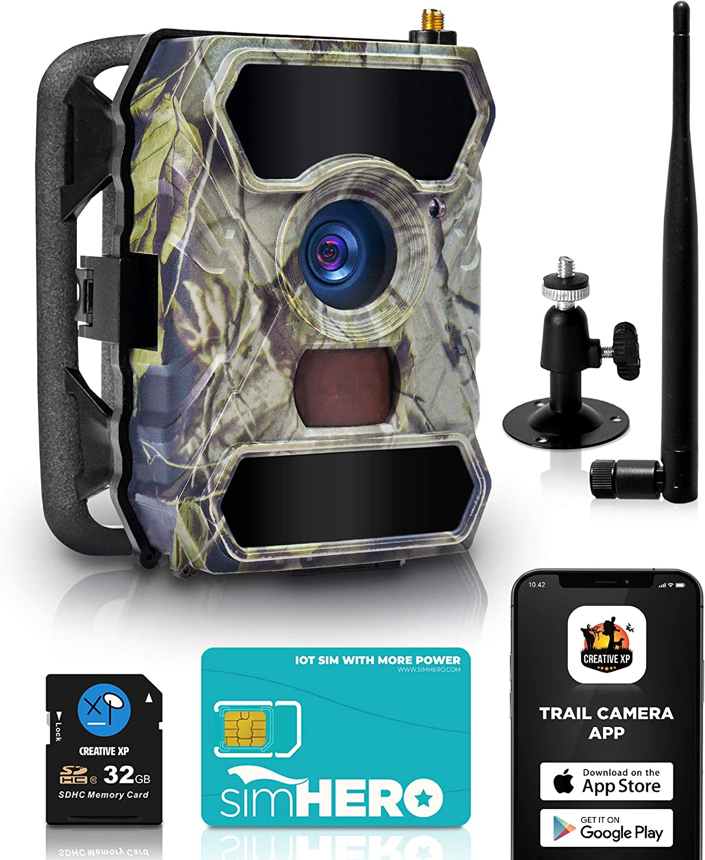 CREATIVE XP Cellular HD Trail Camera