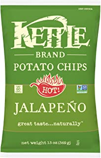 Kettle Brand Potato Chips, Jalapeno Kettle Chips, Sharing Size 13 Oz