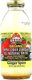 Bragg Apple Cider Vinegar Drink, Ginger Spice, 16-ounces (Pack of6)