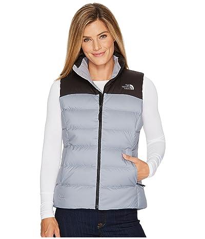 The North Face Nuptse Vest (Mid Grey/TNF Black) Women