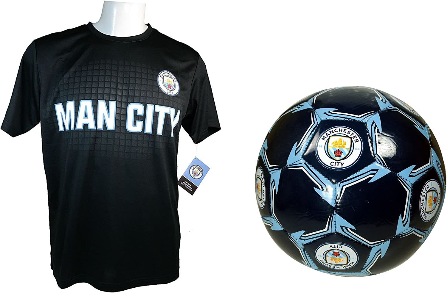 Manchester City F.C. Soccer Official Jersey Luxury Outlet ☆ Free Shipping Training Si