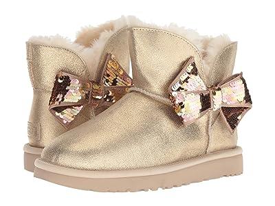 UGG Mini Sequin Bow (Gold) Women