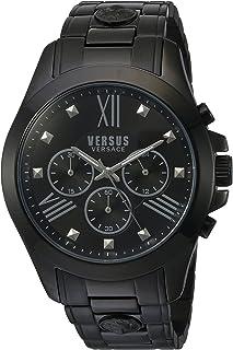 Versus by Versace Analog Black Dial Men's Watch - SBH04 0015