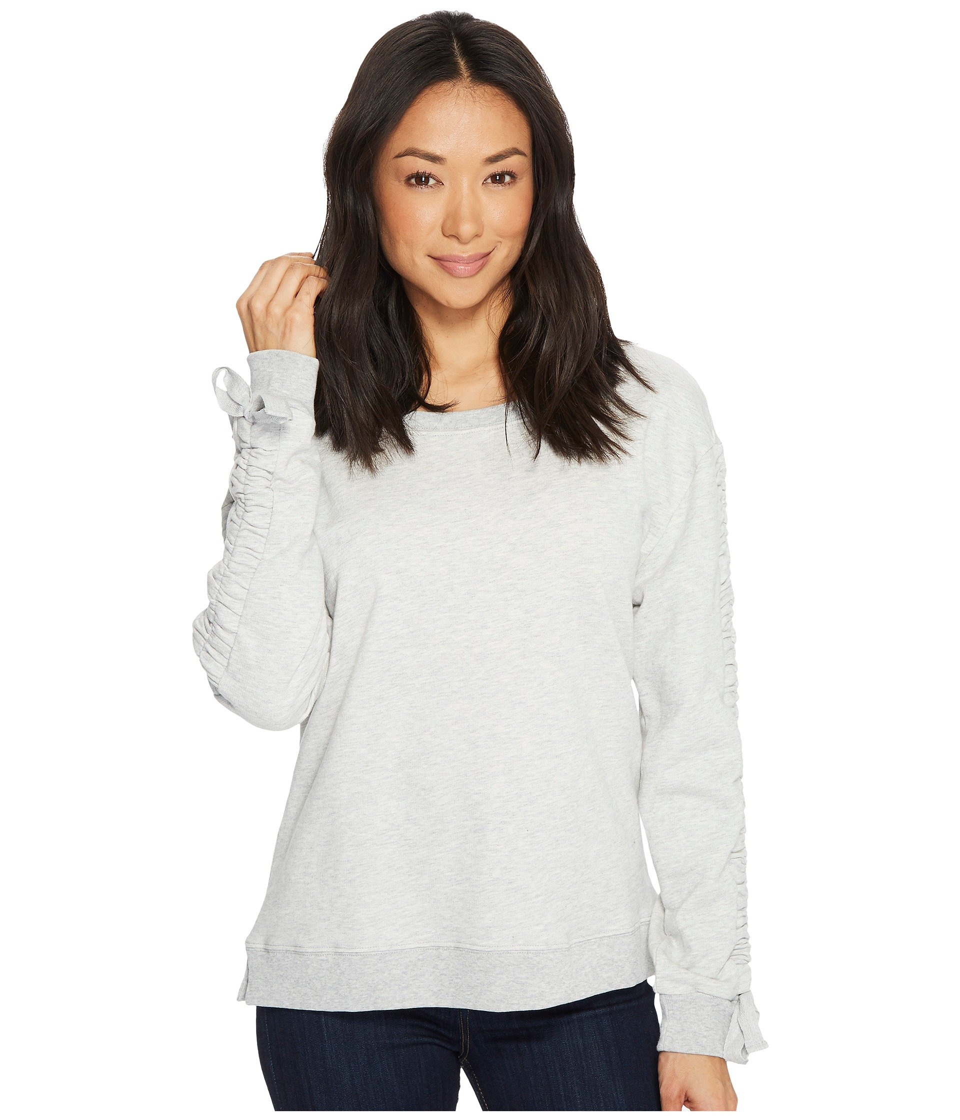 Camden Ruched Sweatshirt