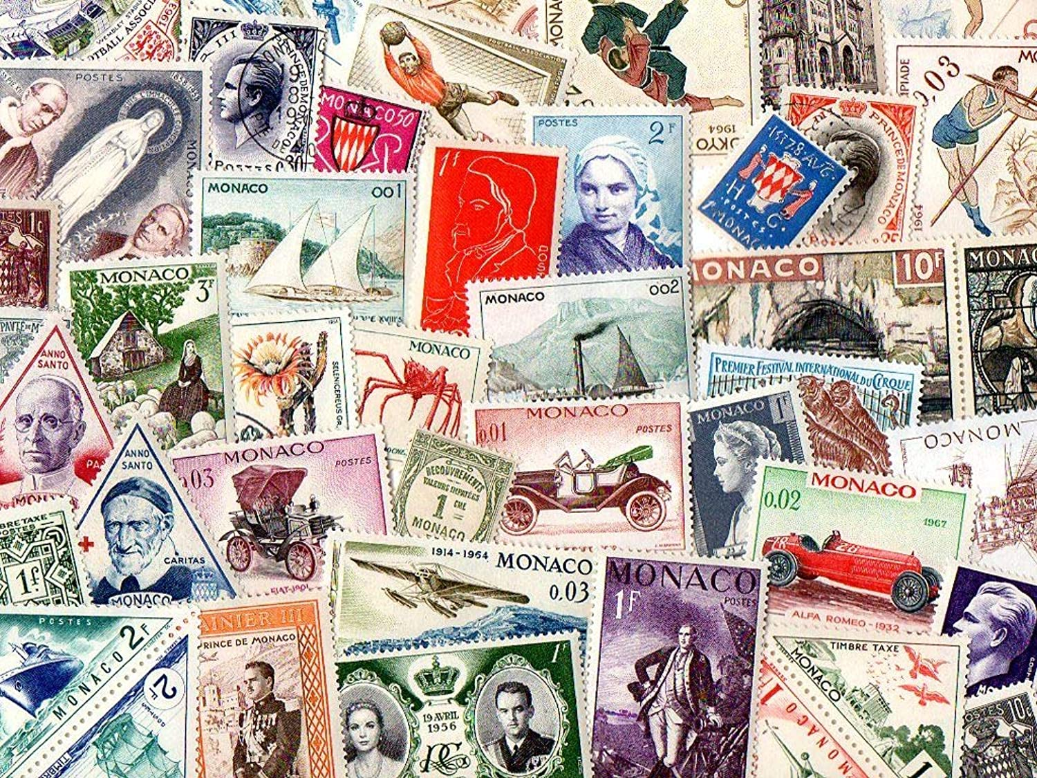 Monaco   600 Different Stamps Collection Mixture Packet Stamps For Collectors