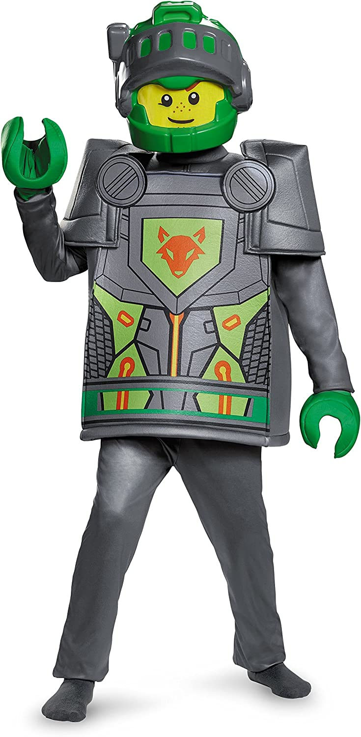 Disguise Costumes Aaron Deluxe Nexo Knights Lego Costume, Small 46