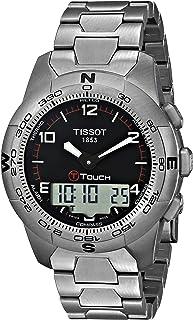 Tissot Men's T0474204405700 T-Touch II Men's Black Quartz Touch Watch