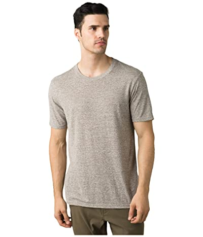 Prana Cardiff T-Shirt (Oatmeal Heather) Men
