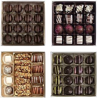 Valentine's Day Chocolate Gift Box - Celebrate Valentine's Day with 4 Chocolate Boxes, 63 Pc.