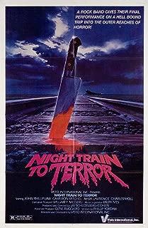 Night Train to Terror 1985 U.S. One Sheet Poster
