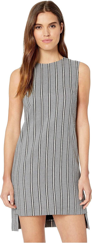Nicole Miller Women's Striped Shift Dress
