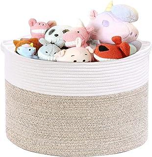 Laundry Basket Basket for toys Toys Basket Nursery Storage Nursery Basket,Toy Storage Playroom Storage