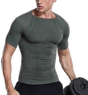 加圧インナー 補正下着 メンズ コンプレッションウェア 筋肉 脂肪燃焼 お腹引き締め トレーニング スポーツウェア