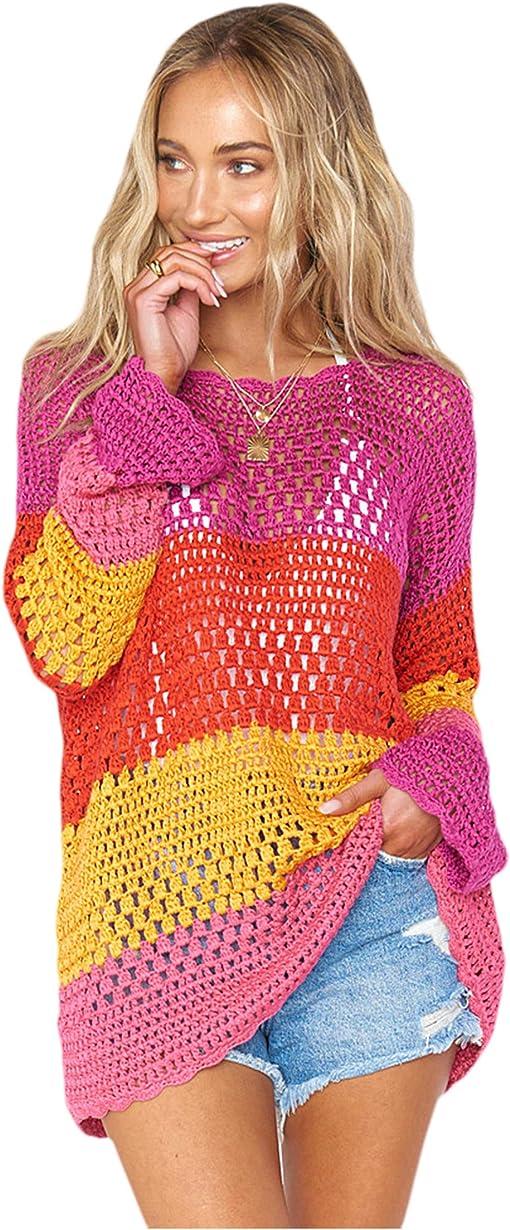 Rainbow Stripe Crochet
