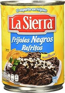 La Sierra Frijoles Negros Refritos, 580 g