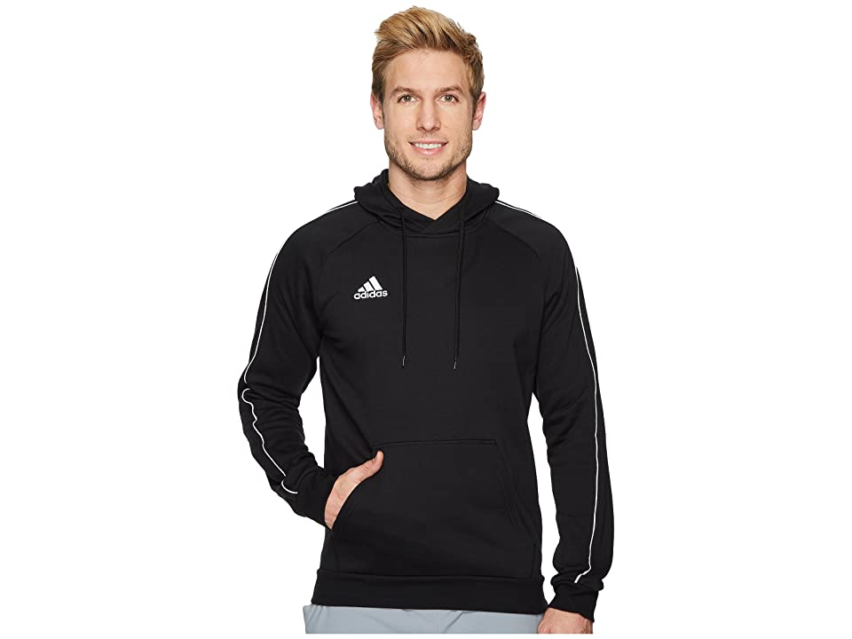 adidas Core18 Hoodie (Black/White) Men