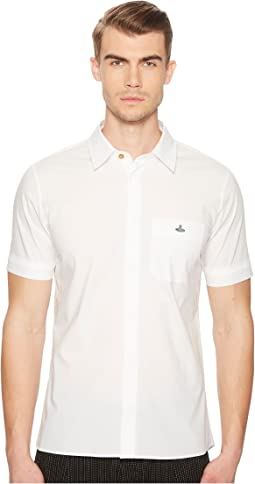 Classic Stretch Poplin Short Sleeve Shirt