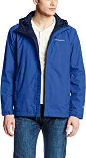 Columbia Men's Watertight II Front-Zip Hooded Rain...