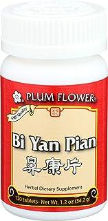 Plum Flower Chinese Tea, Bi Yan Pian, 120 Tablets