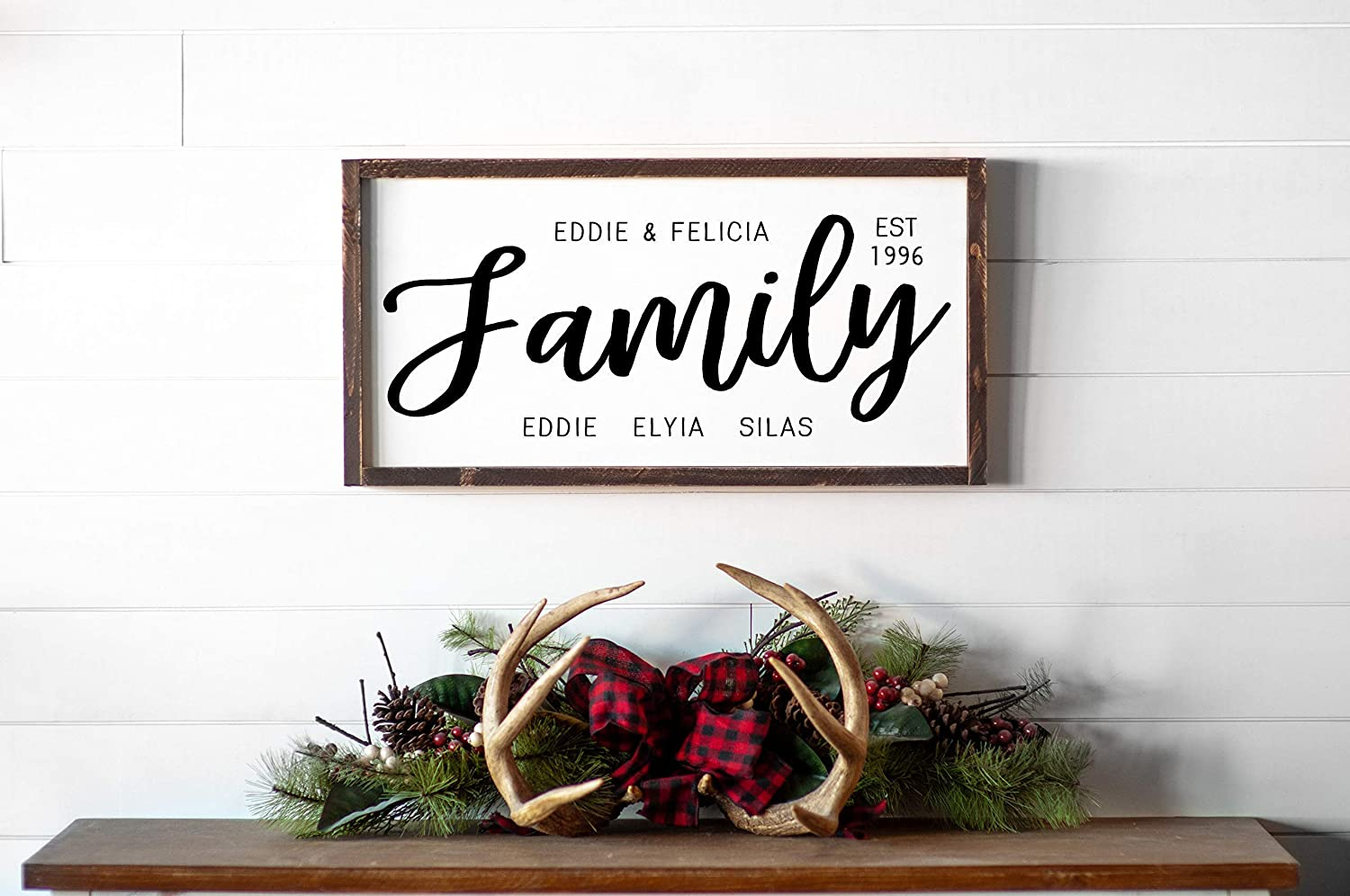 Blended Max 44% quality assurance OFF Family Signs for Wo Personalized Home Established