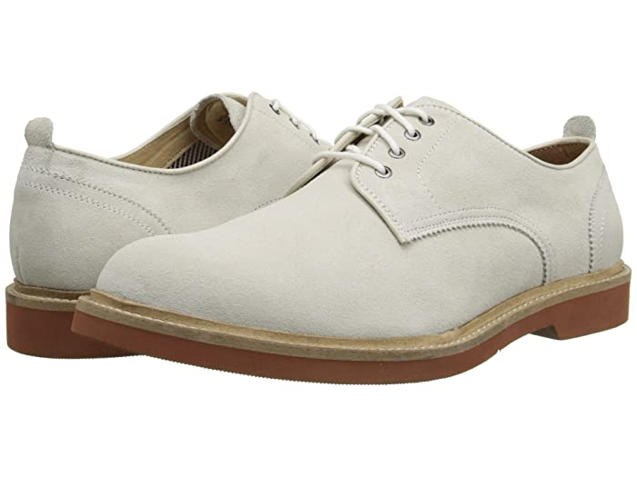 Dress in Great Gatsby Clothes for Men Florsheim Bucktown Plain Ox White Suede Mens Lace up casual Shoes $80.47 AT vintagedancer.com