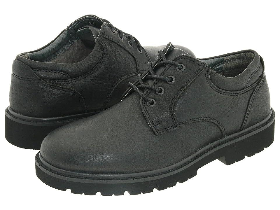 Dockers Shelter Plain Toe (Black Full Grain Leather) Men