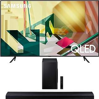 "Samsung QN75Q70TA 75"" Ultra High Definition Smart 4K QLED Quantum HDR TV with a Samsung HW-Q70T 3.1.2 Ch Dolby Atmos Sound..."