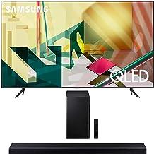 "Samsung QN82Q70TA 82"" QLED Ultra High Resolution Smart HDR 4K TV with a Samsung HW-Q70T 3.1.2 Ch Dolby Atmos Soundbar with..."